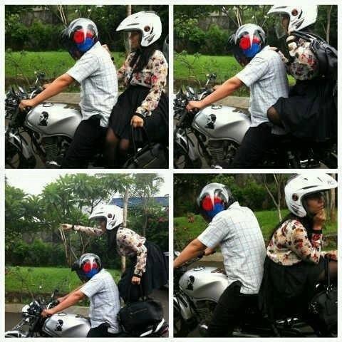 Ngangkang on Larangan Cewek Ngangkang Pas Boncengan Motor Setuju Gak ...